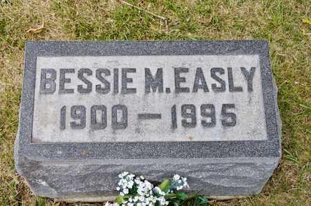 EASLY, BESSIE M - Richland County, Ohio | BESSIE M EASLY - Ohio Gravestone Photos