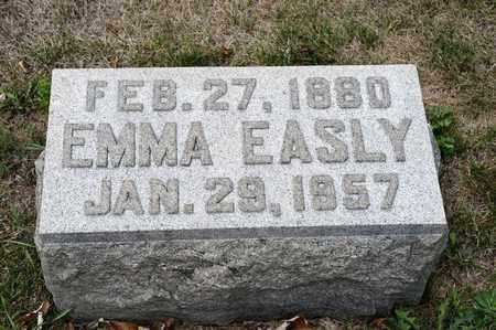 EASLY, EMMA - Richland County, Ohio   EMMA EASLY - Ohio Gravestone Photos