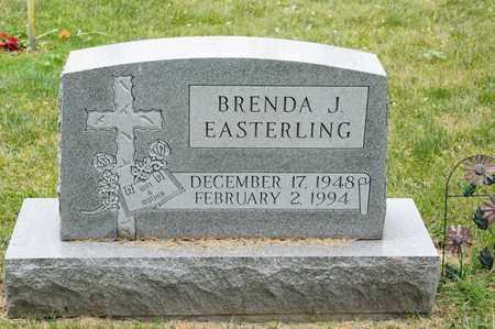 EASTERLING, BRENDA J - Richland County, Ohio   BRENDA J EASTERLING - Ohio Gravestone Photos