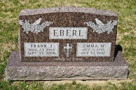 EBERL, FRANK J - Richland County, Ohio | FRANK J EBERL - Ohio Gravestone Photos
