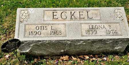 ECKEL, LEONA B - Richland County, Ohio | LEONA B ECKEL - Ohio Gravestone Photos