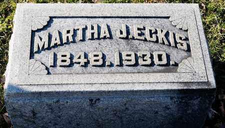 ECKIS, MARTHA J - Richland County, Ohio | MARTHA J ECKIS - Ohio Gravestone Photos