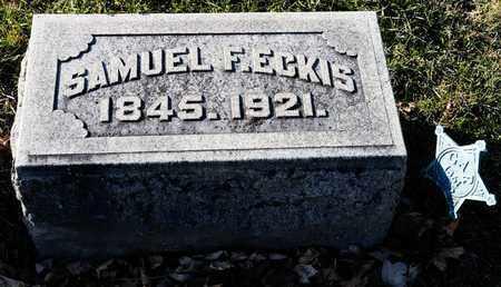 ECKIS, SAMUEL F - Richland County, Ohio | SAMUEL F ECKIS - Ohio Gravestone Photos