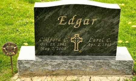 EDGAR, CLIFFORD C - Richland County, Ohio | CLIFFORD C EDGAR - Ohio Gravestone Photos
