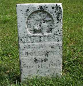 EDMONDS, NANCY - Richland County, Ohio | NANCY EDMONDS - Ohio Gravestone Photos