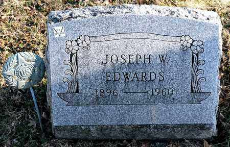 EDWARDS, JOSEPH W - Richland County, Ohio | JOSEPH W EDWARDS - Ohio Gravestone Photos