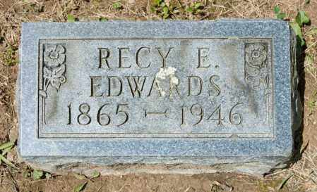 EDWARDS, RECY E - Richland County, Ohio | RECY E EDWARDS - Ohio Gravestone Photos
