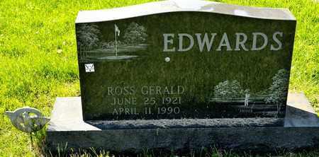 EDWARDS, ROSS GERALD - Richland County, Ohio   ROSS GERALD EDWARDS - Ohio Gravestone Photos