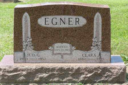 EGNER, JUD G - Richland County, Ohio | JUD G EGNER - Ohio Gravestone Photos