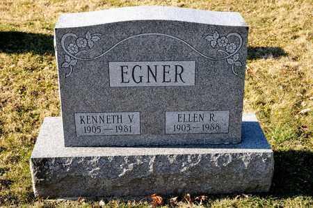 EGNER, ELLEN R - Richland County, Ohio | ELLEN R EGNER - Ohio Gravestone Photos