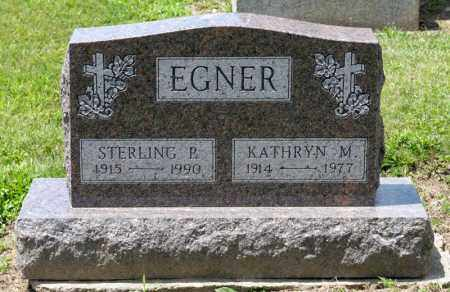 EGNER, KATHRYN M - Richland County, Ohio | KATHRYN M EGNER - Ohio Gravestone Photos