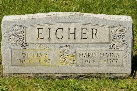 EICHER, WILLIAM - Richland County, Ohio | WILLIAM EICHER - Ohio Gravestone Photos