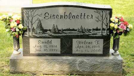 EISENBLAETTER, HELENE F - Richland County, Ohio | HELENE F EISENBLAETTER - Ohio Gravestone Photos