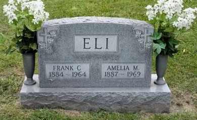 ELI, AMELIA M - Richland County, Ohio | AMELIA M ELI - Ohio Gravestone Photos