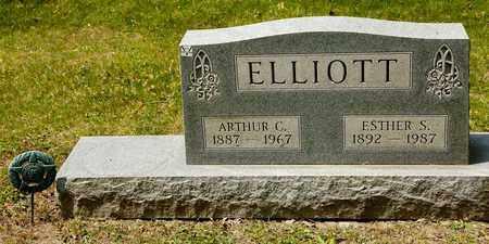 ELLIOTT, ESTHER S - Richland County, Ohio | ESTHER S ELLIOTT - Ohio Gravestone Photos