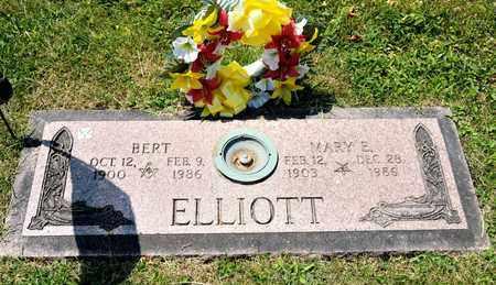 ELLIOTT, BERT - Richland County, Ohio | BERT ELLIOTT - Ohio Gravestone Photos