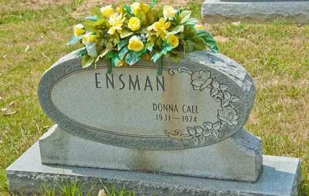 CALL ENSMAN, DONNA - Richland County, Ohio | DONNA CALL ENSMAN - Ohio Gravestone Photos
