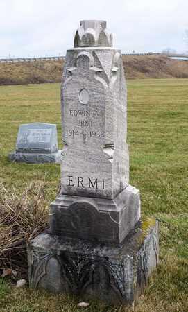 ERMI, EDWIN A - Richland County, Ohio | EDWIN A ERMI - Ohio Gravestone Photos