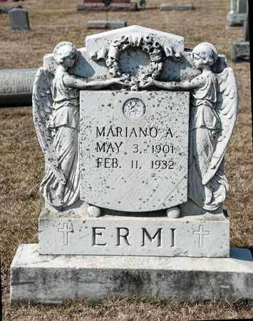 ERMI, MARIANO A - Richland County, Ohio | MARIANO A ERMI - Ohio Gravestone Photos