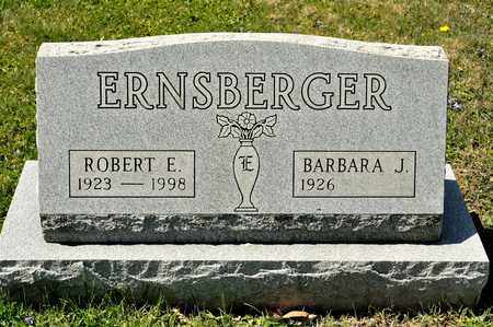 ERNSBERGER, ROBERT E - Richland County, Ohio | ROBERT E ERNSBERGER - Ohio Gravestone Photos