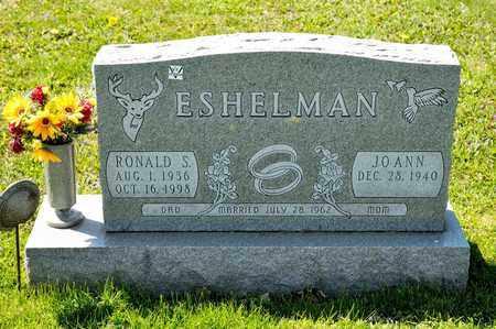 ESHELMAN, RONALD S - Richland County, Ohio | RONALD S ESHELMAN - Ohio Gravestone Photos