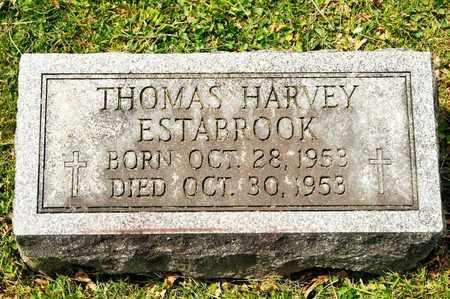 ESTABROOK, THOMAS HARVEY - Richland County, Ohio | THOMAS HARVEY ESTABROOK - Ohio Gravestone Photos