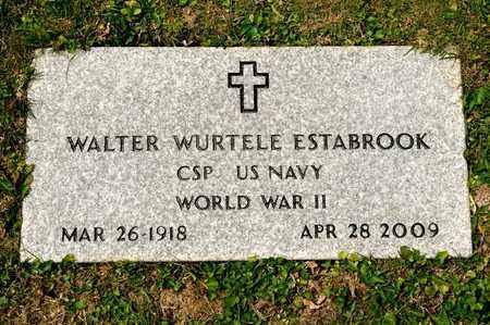 ESTABROOK, WALTER WURTELE - Richland County, Ohio   WALTER WURTELE ESTABROOK - Ohio Gravestone Photos