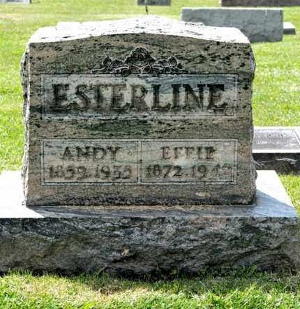 ESTERLINE, EFFIE - Richland County, Ohio | EFFIE ESTERLINE - Ohio Gravestone Photos