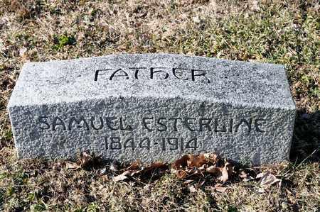 ESTERLINE, SAMUEL - Richland County, Ohio | SAMUEL ESTERLINE - Ohio Gravestone Photos