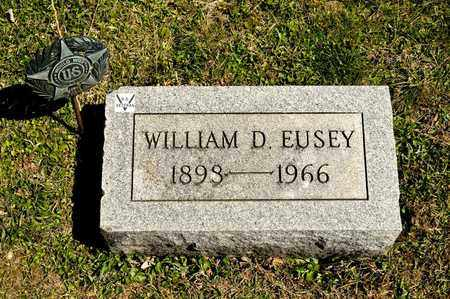 EUSEY, WILLIAM D - Richland County, Ohio | WILLIAM D EUSEY - Ohio Gravestone Photos