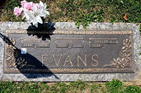 EVANS, GEORGE W - Richland County, Ohio | GEORGE W EVANS - Ohio Gravestone Photos
