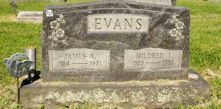 EVANS, JAMES B - Richland County, Ohio | JAMES B EVANS - Ohio Gravestone Photos