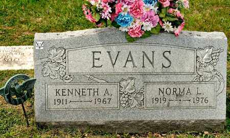 EVANS, KENNETH A - Richland County, Ohio | KENNETH A EVANS - Ohio Gravestone Photos