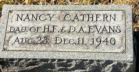 EVANS, NANCY CATHERN - Richland County, Ohio | NANCY CATHERN EVANS - Ohio Gravestone Photos