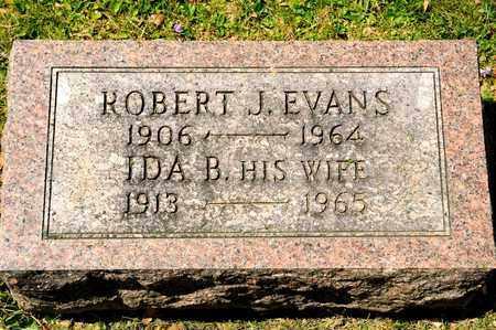 EVANS, IDA B - Richland County, Ohio | IDA B EVANS - Ohio Gravestone Photos