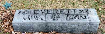 EVERETT, ELZORA D - Richland County, Ohio | ELZORA D EVERETT - Ohio Gravestone Photos