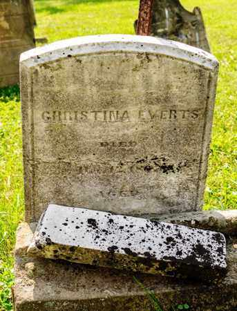 EVERTS, CHRISTINA - Richland County, Ohio | CHRISTINA EVERTS - Ohio Gravestone Photos
