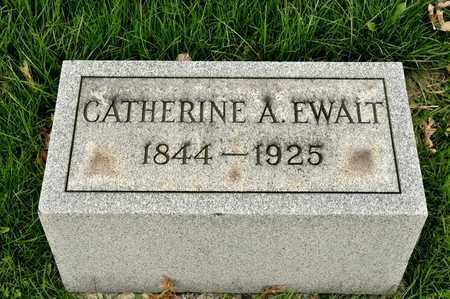 EWALT, CATHERINE A - Richland County, Ohio   CATHERINE A EWALT - Ohio Gravestone Photos