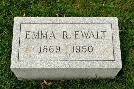 EWALT, EMMA R - Richland County, Ohio | EMMA R EWALT - Ohio Gravestone Photos