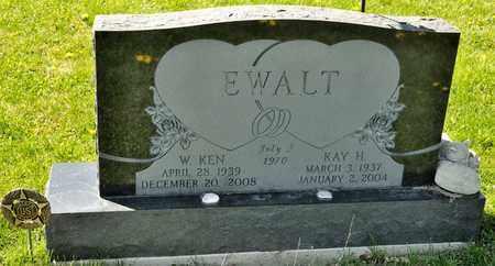 EWALT, W KEN - Richland County, Ohio | W KEN EWALT - Ohio Gravestone Photos