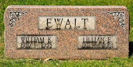 EWALT, LILLIAN E - Richland County, Ohio | LILLIAN E EWALT - Ohio Gravestone Photos