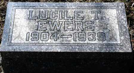 EWERS, LUCILE T - Richland County, Ohio | LUCILE T EWERS - Ohio Gravestone Photos
