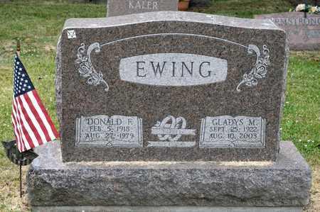 EWING, GLADYS M - Richland County, Ohio   GLADYS M EWING - Ohio Gravestone Photos