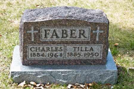 FABER, CHARLES - Richland County, Ohio | CHARLES FABER - Ohio Gravestone Photos