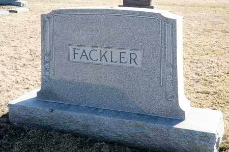 FACKLER, ELIZABETH - Richland County, Ohio | ELIZABETH FACKLER - Ohio Gravestone Photos