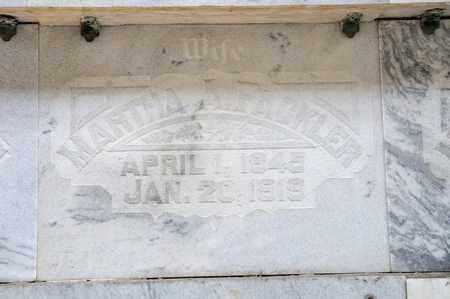FACKLER, MARTHA A - Richland County, Ohio | MARTHA A FACKLER - Ohio Gravestone Photos