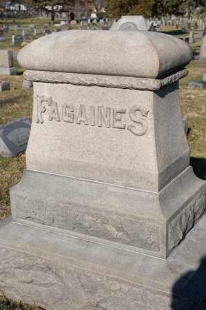 FAGAINES, NERVA O - Richland County, Ohio | NERVA O FAGAINES - Ohio Gravestone Photos