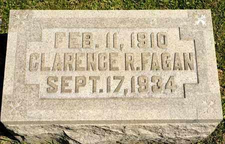 FAGAN, CLARENCE R - Richland County, Ohio | CLARENCE R FAGAN - Ohio Gravestone Photos