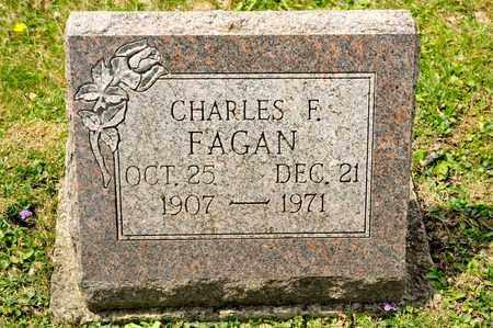 FAGAN, CHARLES F - Richland County, Ohio   CHARLES F FAGAN - Ohio Gravestone Photos