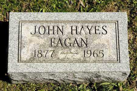 FAGAN, JOHN HAYES - Richland County, Ohio | JOHN HAYES FAGAN - Ohio Gravestone Photos